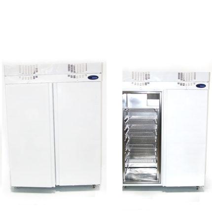 Doppelkühlschrank weiß