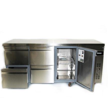 Kühlpult 1 Tür 4 Laden