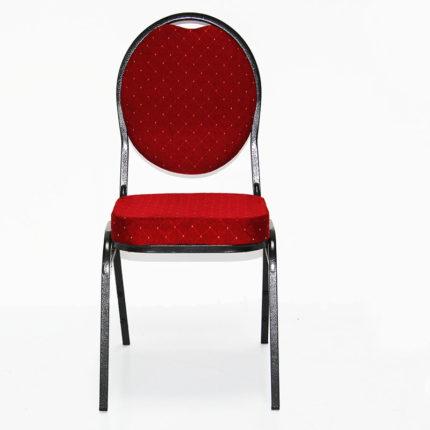 Bankettstuhl, rot