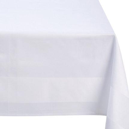 Tischtuch weiß 140x140 cm