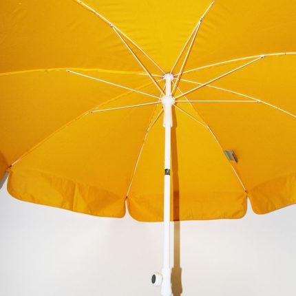 Sonnenschirm, gelb, 180 cm inkl. Ständer
