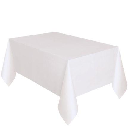 Tischtuch weiß 140x180 cm