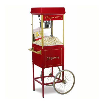 Popcornmaschine schiebbar