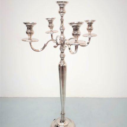 Kerzenständer silber_5-armig